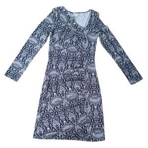 🌸3/$30🌸 Body con long sleeve dress medium